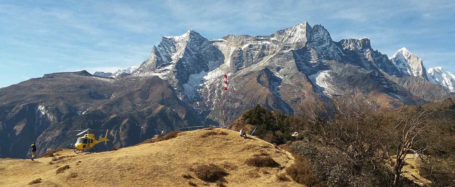 Everest Base Camp Trek and Return via Helicopter