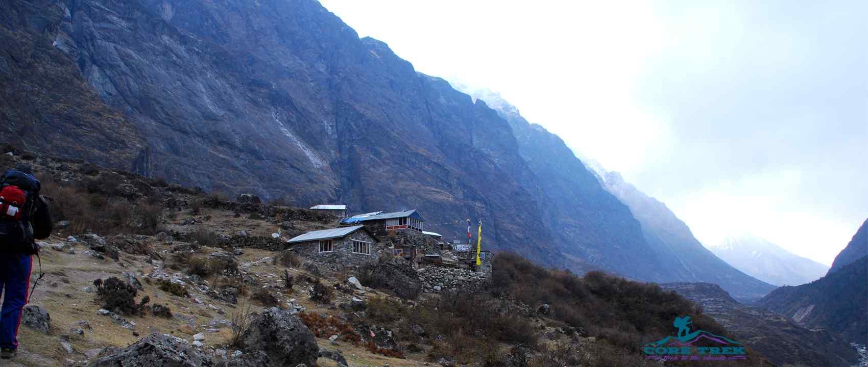 Langtang Valley Trek and Return via Helicopter in Nepal