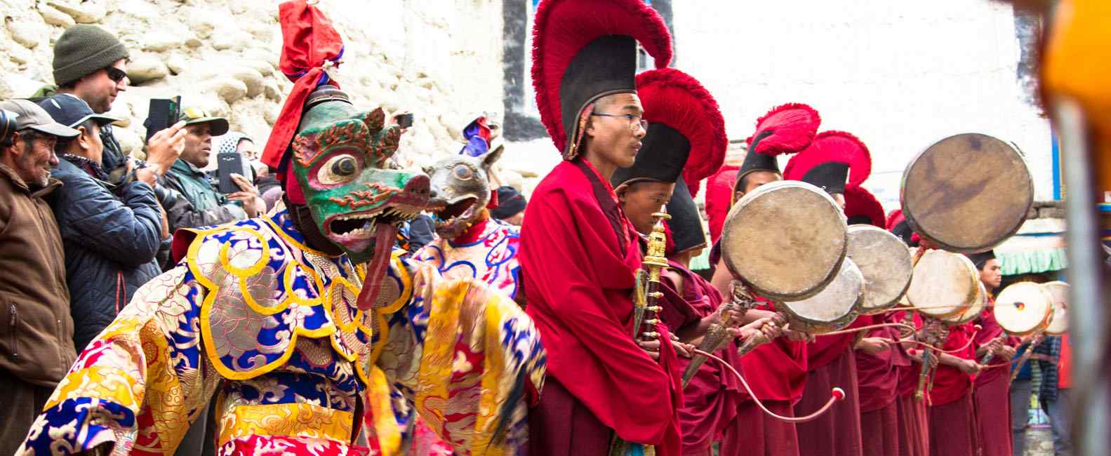 Upper Mustang Trek with Tiji Festival